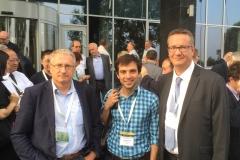 Pavel, Sergii Pazenok and Frederic Leroux