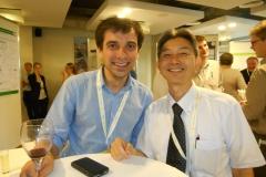 With Takeshi Hamamoto